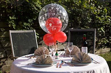Ballondecoratie van ismilo for Ballonnen tafels